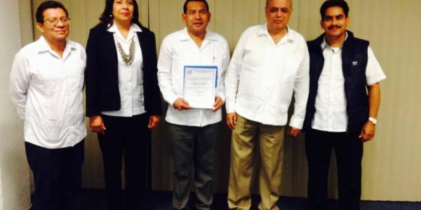 Designa Junta de Gobierno de la UNACH a  Beimar Palacios Arreola, director de la Facultad de Derecho