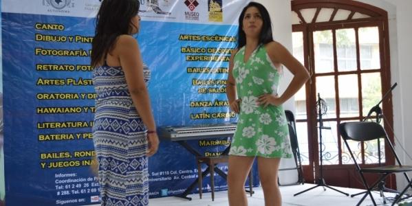 Clausuran los Talleres Artísticos de Verano 2014