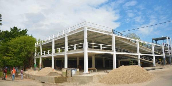 Comenzará a funcionar en breve Estacionamiento Universitario que se construye en el Campus I de la UNACH
