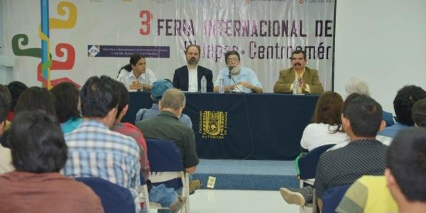 Rinde UNACH homenaje al filósofo Luis Villoro Toranzo en la Tercera Feria  Internacional del Libro Chiapas-Centroamérica 2014