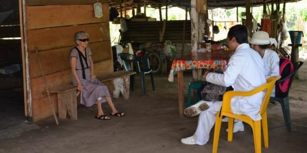 Realizan alumnos de la UNACH diagnóstico médico y de servicios en ejido de Tapachula