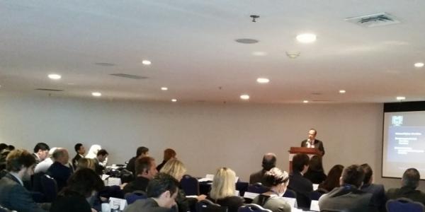 Participa rector de la UNACH en Taller Internacional con especialistas en temas fiscales de Europa y América Latina
