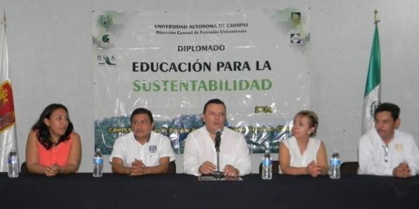 Concluyen académicos, administrativos y estudiantes de la UNACH Diplomado en Educación para la Sustentabilidad