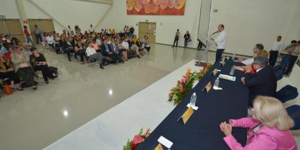 Recibe UNACH a alrededor de 140 funcionarios de educación superior de América del Norte, Latinoamérica y Europa