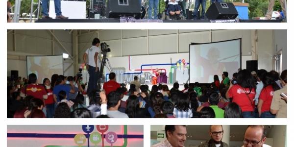 Participan más de 5 mil estudiantes en el foro Universitario Vive tu Medio