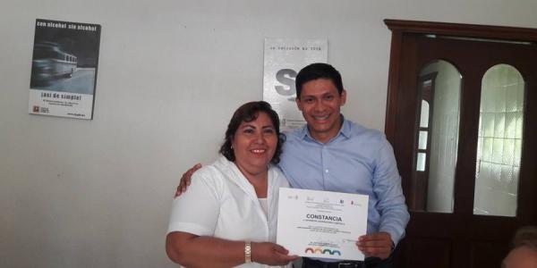 Recibe UNACH constancia que la acredita como miembro del COMCA Tapachula