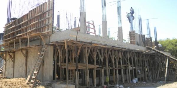 Avanza la construcción del nuevo edificio de la Escuela de Humanidades, Campus IV