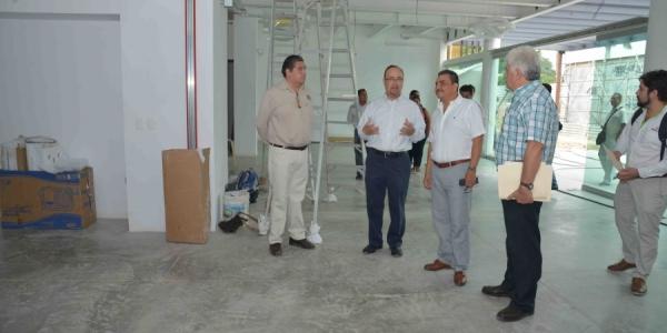 Reportan un 90 por ciento de avance en las obras del Centro Cultural Balún Canán de la UNACH