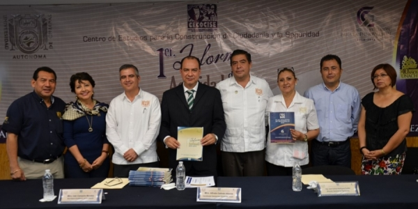 Presenta Centro de Estudios para la Construcción de Ciudadanía y la Seguridad de la UNACH Plan Indicativo de Desarrollo 2024