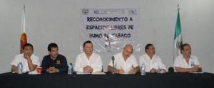 Certifican como Espacios Libres de Humo de Tabaco a Facultades y Centro de la UNACH, Campus IV en Tapachula