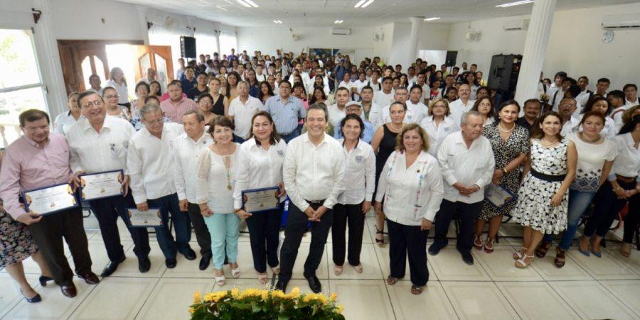 Celebran 25 años de la Escuela de Ciencias Administrativas, Campus IX de la UNACH  en Arriaga