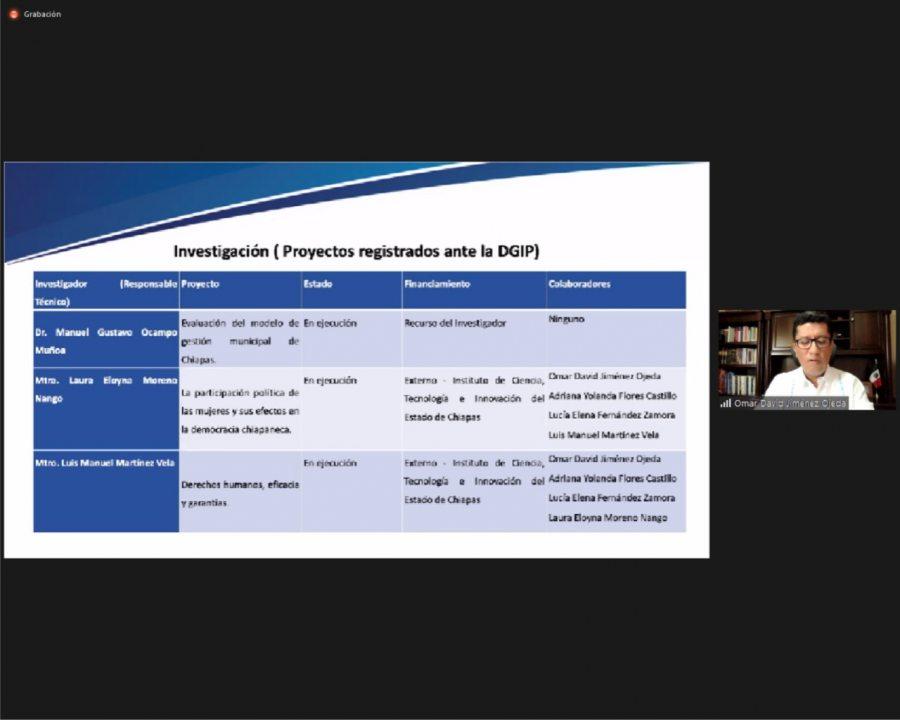 Destacan trabajos de investigación y producción editorial  de integrantes del IIJ-UNACH