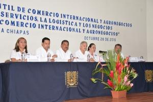 Realiza UNACH el 4° Foro Estudiantil de Comercio Internacional y Agronegocios
