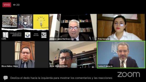 Celebró UNACH los 10 años de la Reforma Constitucional en materia de Derechos Humanos