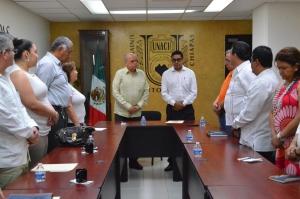 Designan a Erick Emmanuel Luis Gijón, como Encargado de la Secretaría Administrativa de la UNACH