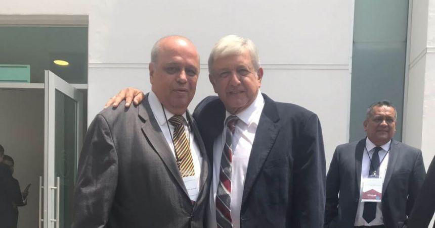 Participa UNACH en encuentro con el Presidente Electo, Andrés Manuel López Obrador