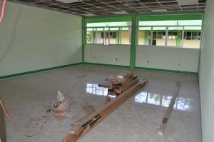 Avanzan trabajos de modernización de infraestructura educativa en la  Facultad de Ciencias Agrícolas de la UNACH