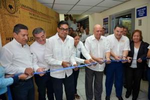 """Renuevan infraestructura y servicios del edificio """"Maciel"""" de la UNACH"""