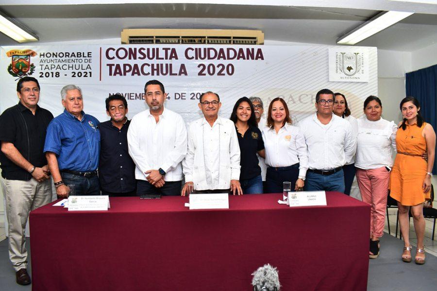 Participará UNACH en Consulta Ciudadana Tapachula