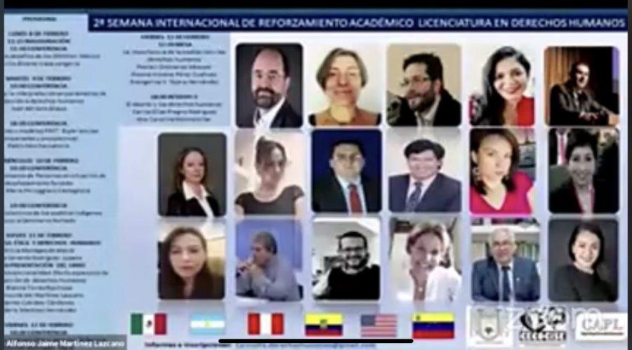 Expertos en Derechos Humanos participan en encuentro internacional organizado por la UNACH